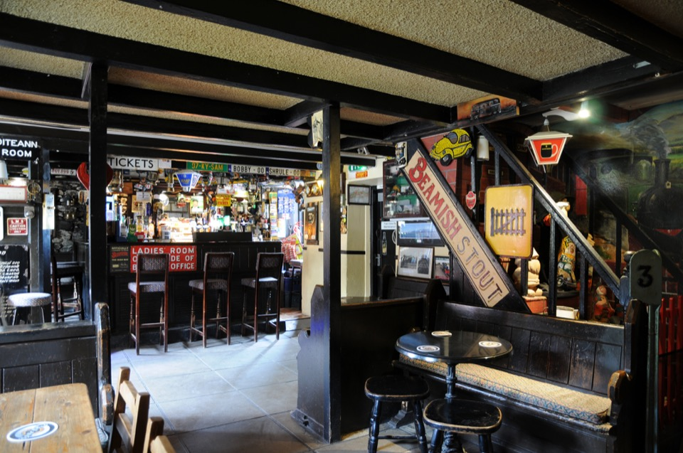 Railway Tavern interior